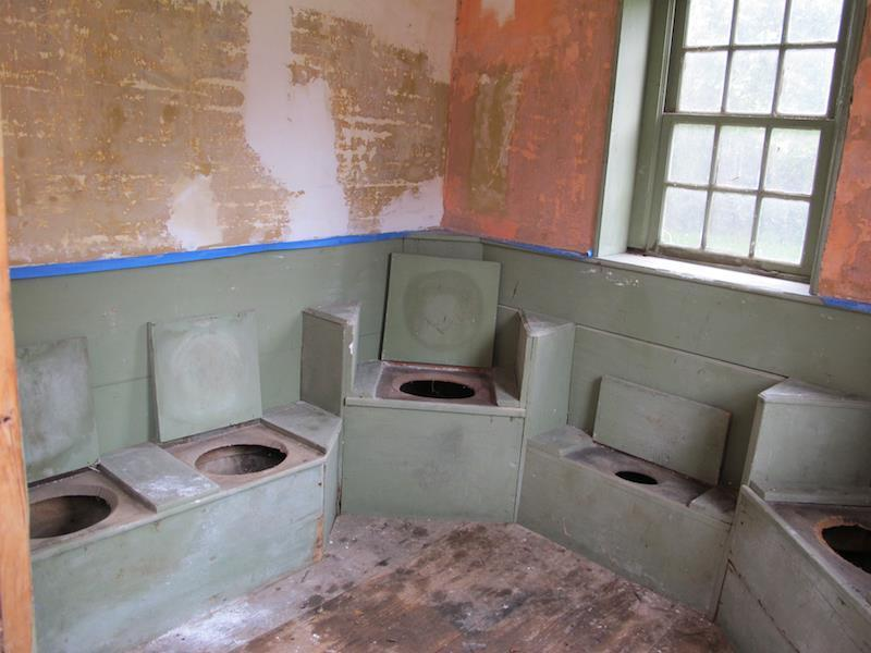Super The Golden Age Of Outhouses The Boston Globe Largest Home Design Picture Inspirations Pitcheantrous