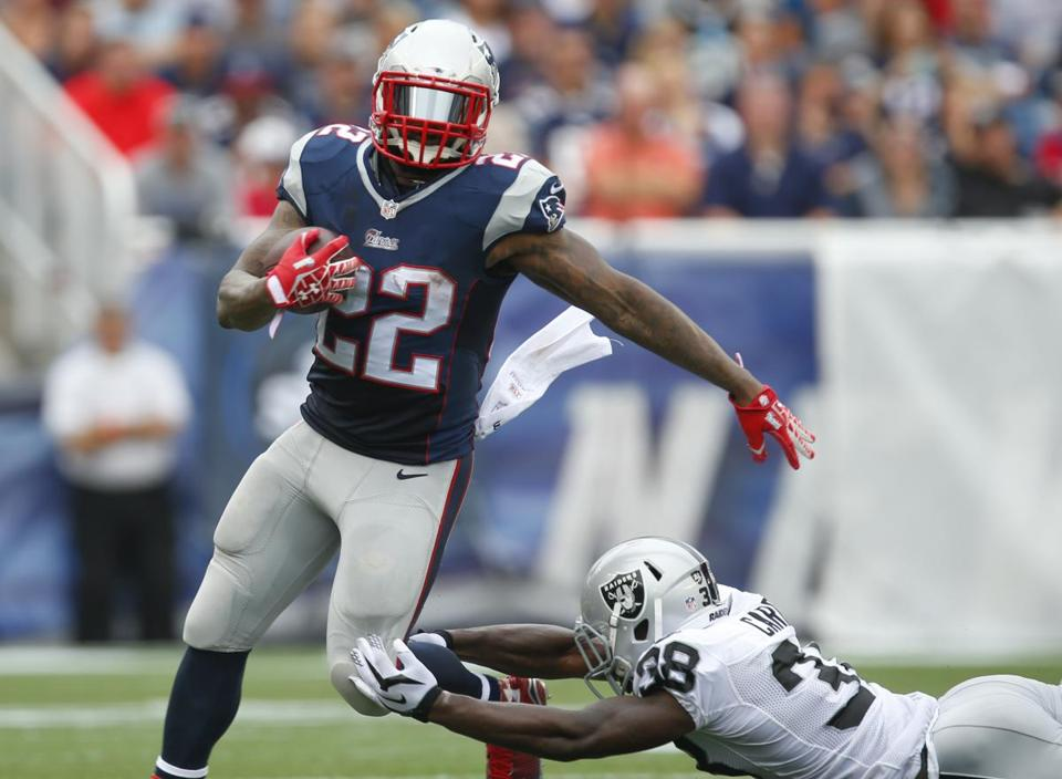 Stevan Ridley wasn't perfect but he was the most physical running back the Patriots had.