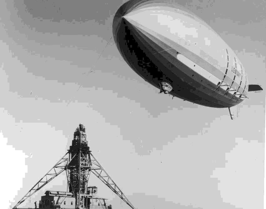 The USS Macon, 1933