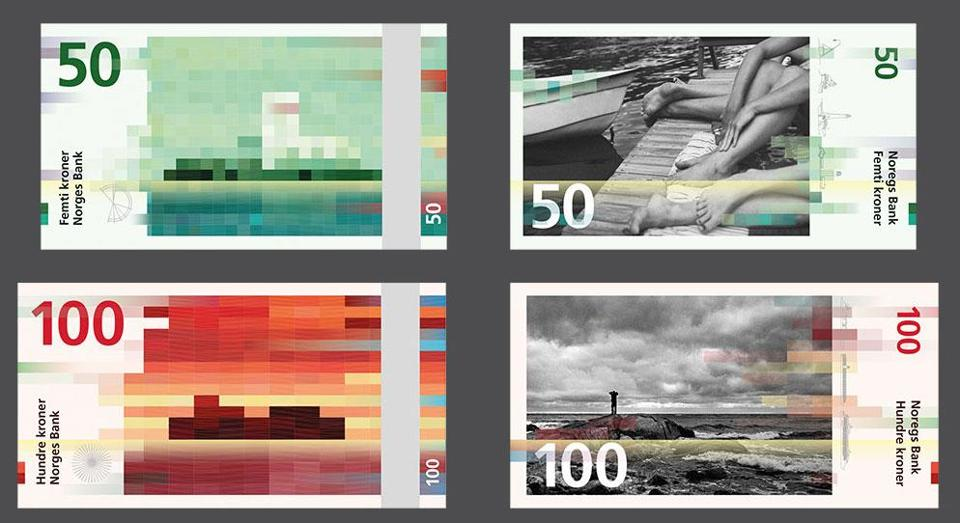 New Currency Norway Norway's Amazing New Abstract