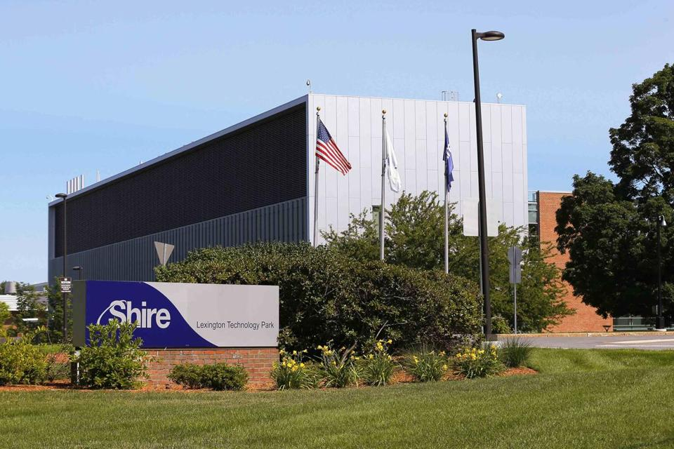 Shire, which has its US headquarters in Lexington, will receive a $1.6 billion breakup fee. REUTERS/Brian Snyder/File