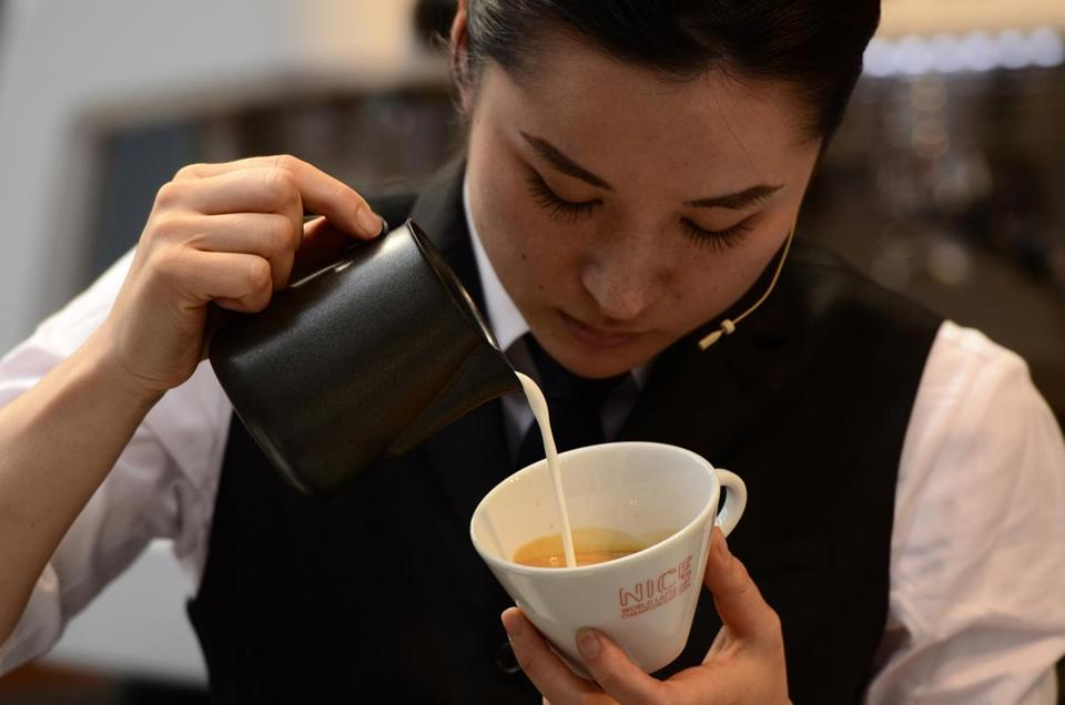 World Coffee Events. Hisako Yoshikawa (2013 WLAC Champion): MUST CREDIT DANIEL HENDERSON/2013 WCE