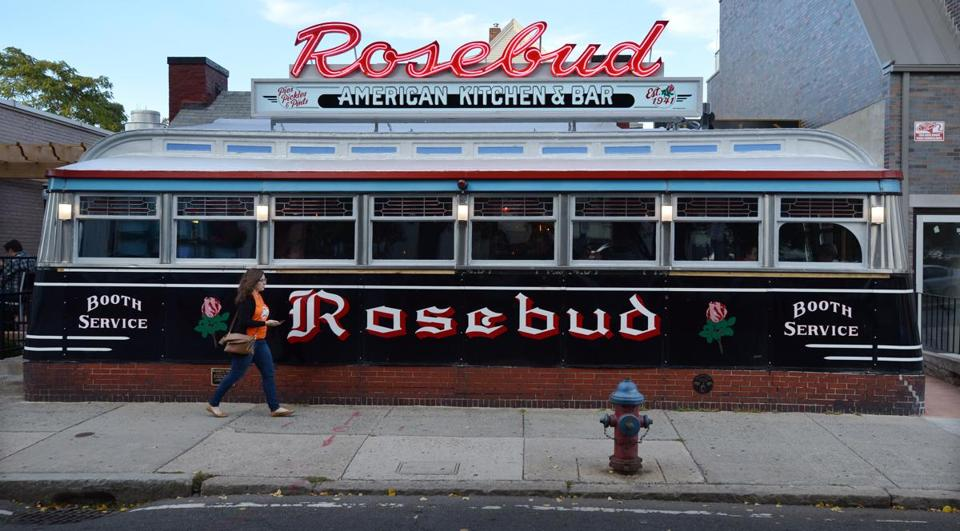 The re-opened Rosebud dinner in Davis Square Somerville. Josh Reynolds for The Boston Globe (Lifestyle, baskink)