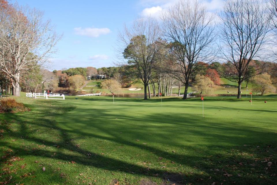 fc3ae5d1c2d A November day on the back nine at the Blue Rock Golf Course in South  Yarmouth