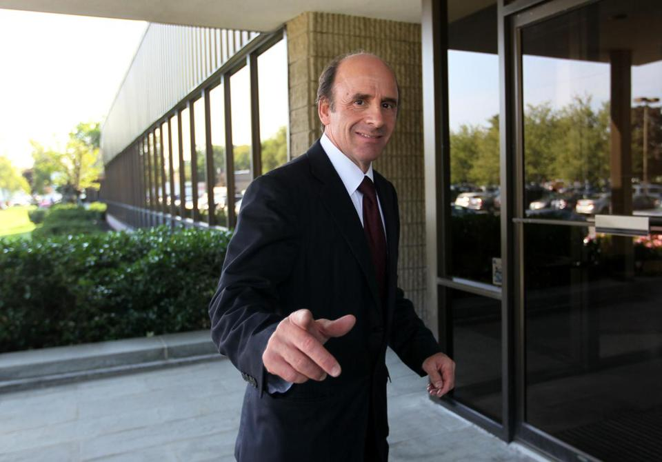 Arthur T. Demoulas walked into company headquarters in Tewksbury Sept. 5.