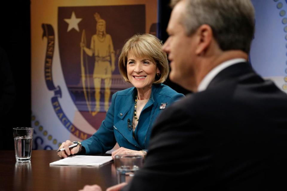 Martha Coakley's contrast between Charlie Baker's focus on helping businesses navigate regulations and delays and her invest-more-in-people approach was instructive.