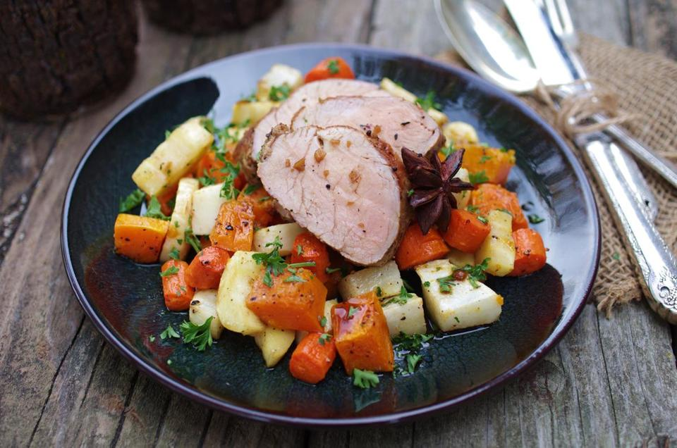 Roast pork and ginger recipes