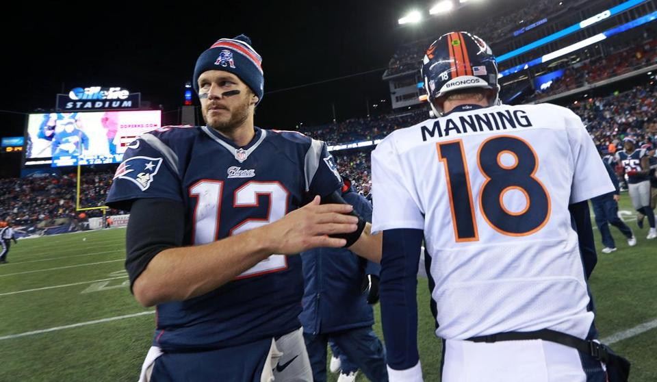 Age of tom brady and peyton manning