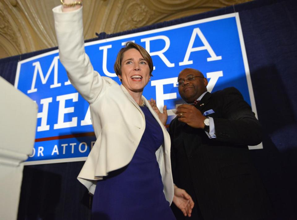 Maura Healey served seven years in Martha Coakley's office.