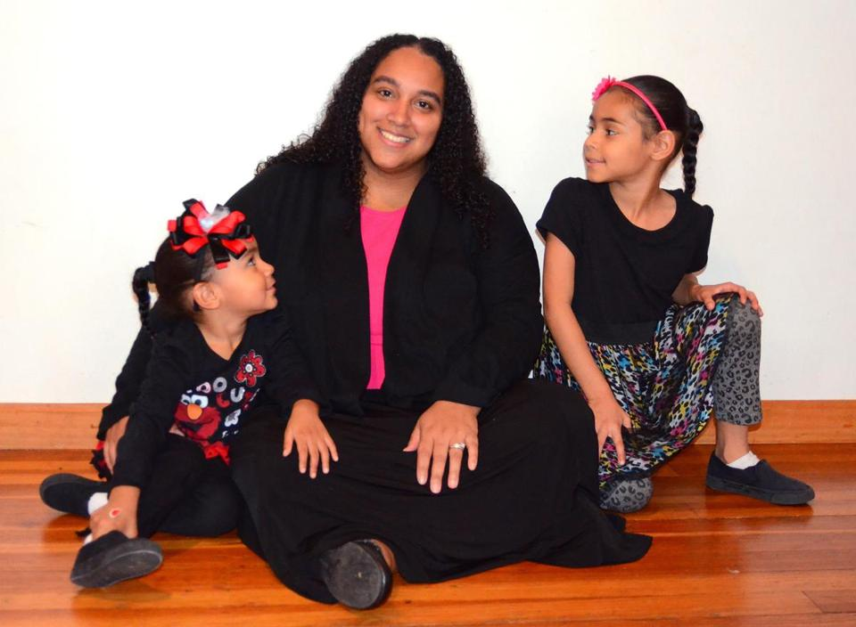 """Recruit good people,"" said former foster child Maria Medina (pictured, with her children). ""I feel I was blessed with the people I got."""