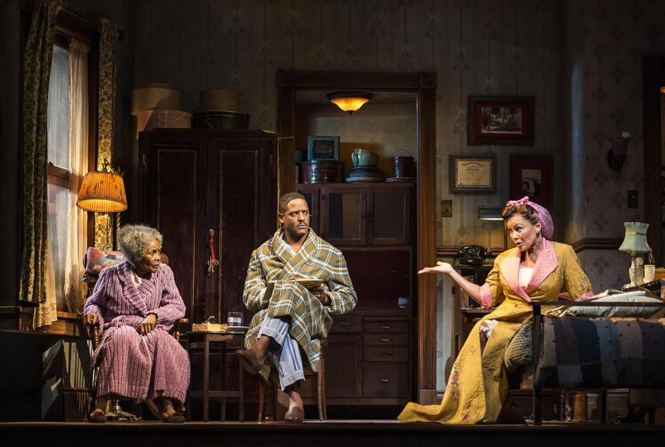 "From left: Cicely Tyson, Blair Underwood, and Vanessa Williams, pictured in ""The Trip to Bountiful"" earlier this year in Los Angeles."