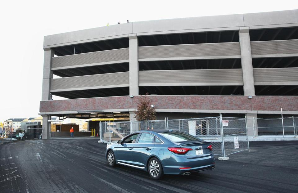The new parking garage at the Salem MBTA commuter rail station has 715 spaces and a bus terminal. It replaces an outdated outdoor parking lot that had space for just 460 vehicles.
