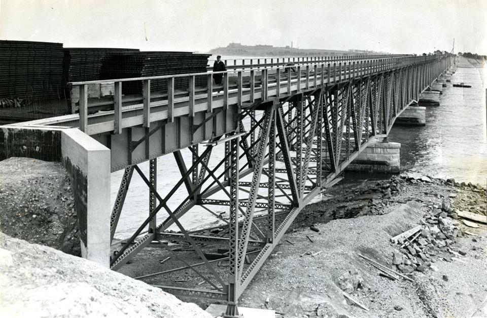 At the time of the steel-truss span's construction in 1951, bridges were typically built to last about 50 years, according to experts.