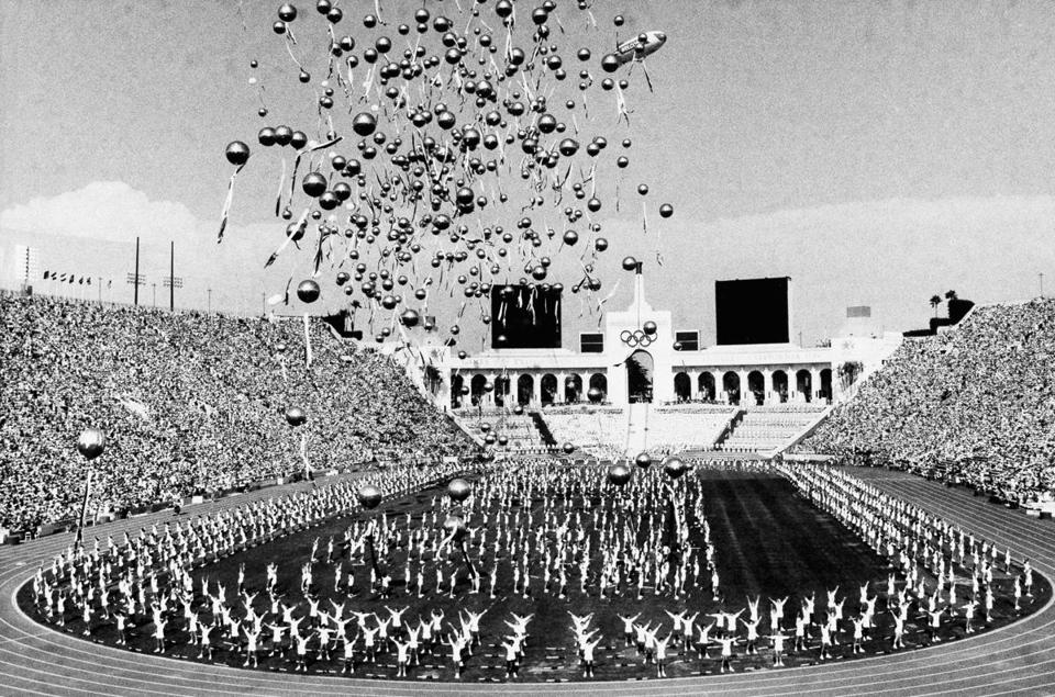 The Los Angeles Memorial Coliseum hosted the opening ceremonies for the tightly budgeted Summer Games in 1984.