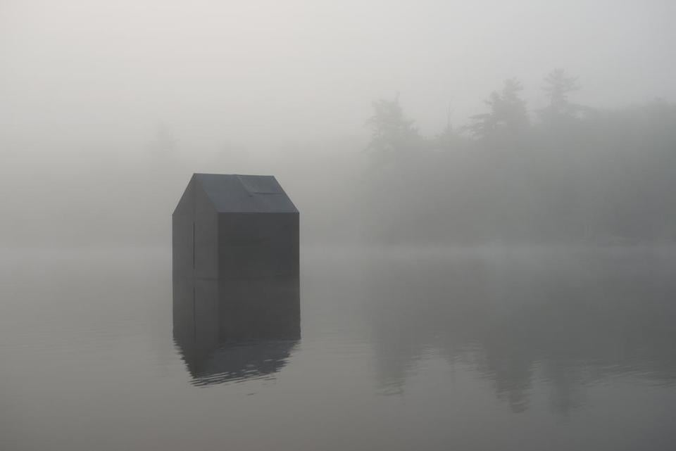 "deCordova Sculpture Park and Museum's exhibition ""Walden, revisited."" William Lamson, Untitled, 2014 Color photograph, 20 x 30 inches Courtesy of the artist -- 28walden"