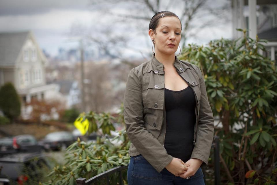 "At Shepherd House in Dorchester, Misty Bergeron, a 36-year-old in recovery from addiction, said she has ""faith I will go places."""