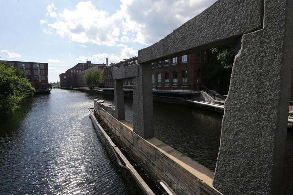 Lowell's canal system gives the town a unique personality.