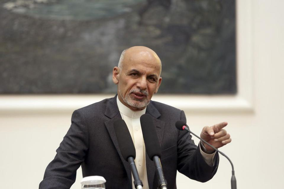 Afghanistan President Ashraf Ghani (pictured) fired most of the ministers held over from the administration of former president Hamid Karzai.