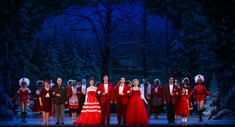 after broadway phantom actress savors role in touring white christmas the boston globe - Actresses In White Christmas