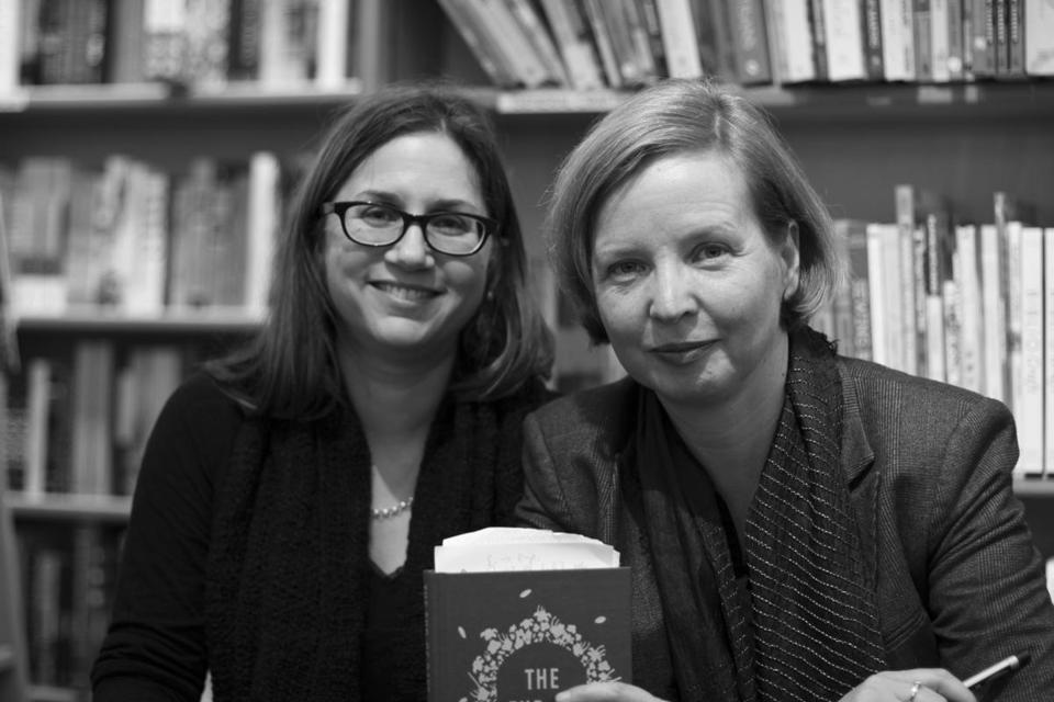 Author Jenny Erpenbeck (right) with Susan Bernofsky, her translator, at a book event in New York in November.