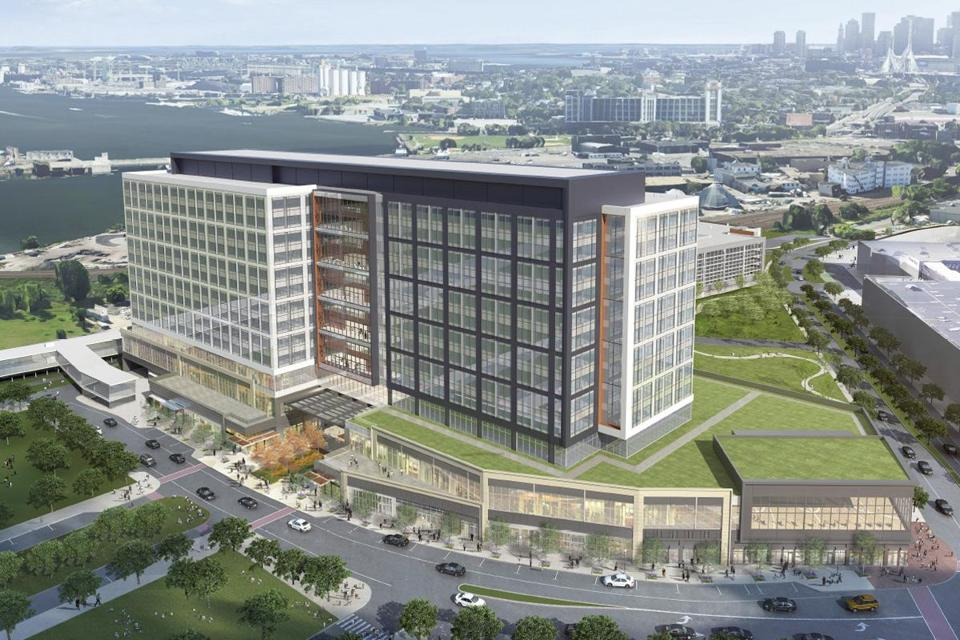 8007b7f1d8e Developers of Assembly Row on Monday began construction of a 13-story  headquarters for Partners