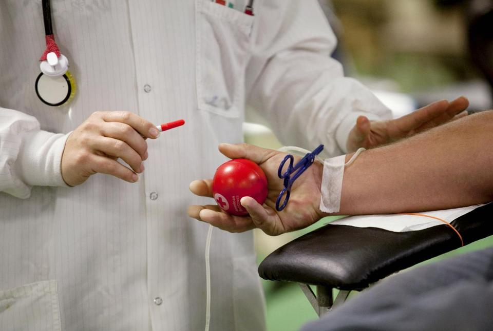 The US blood supply typically lasts 2½ days, on average, requiring constant donations.