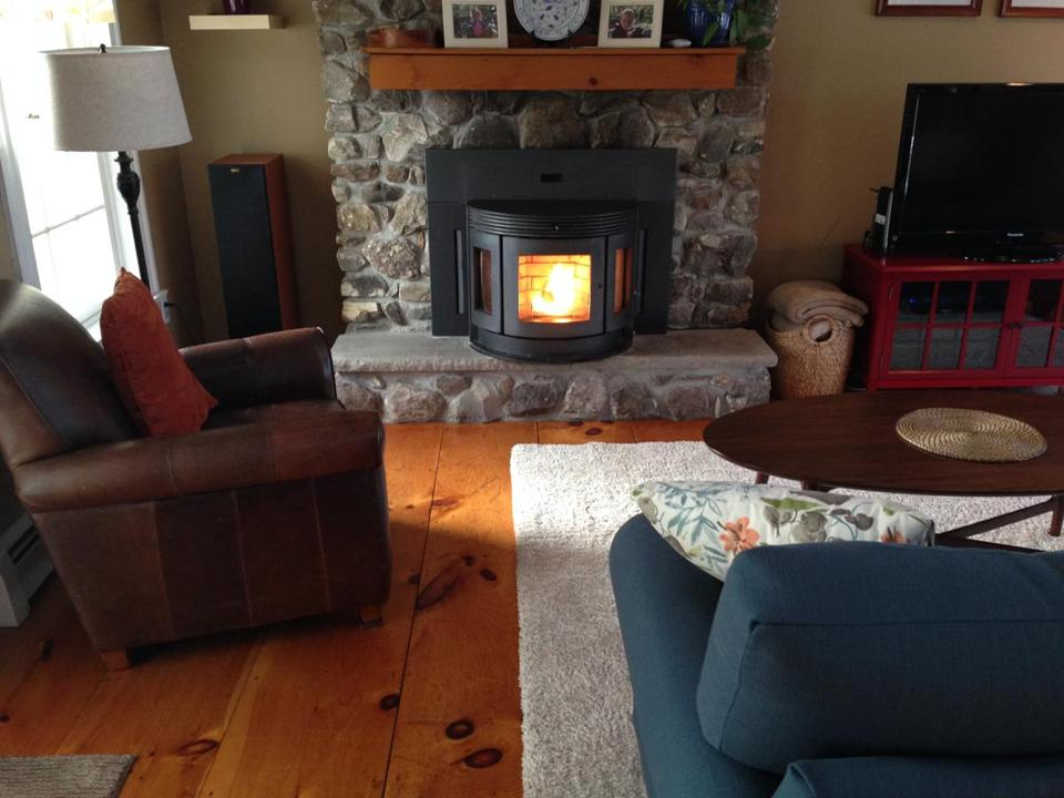 Chris Morris paid $2,800 for her pellet stove.
