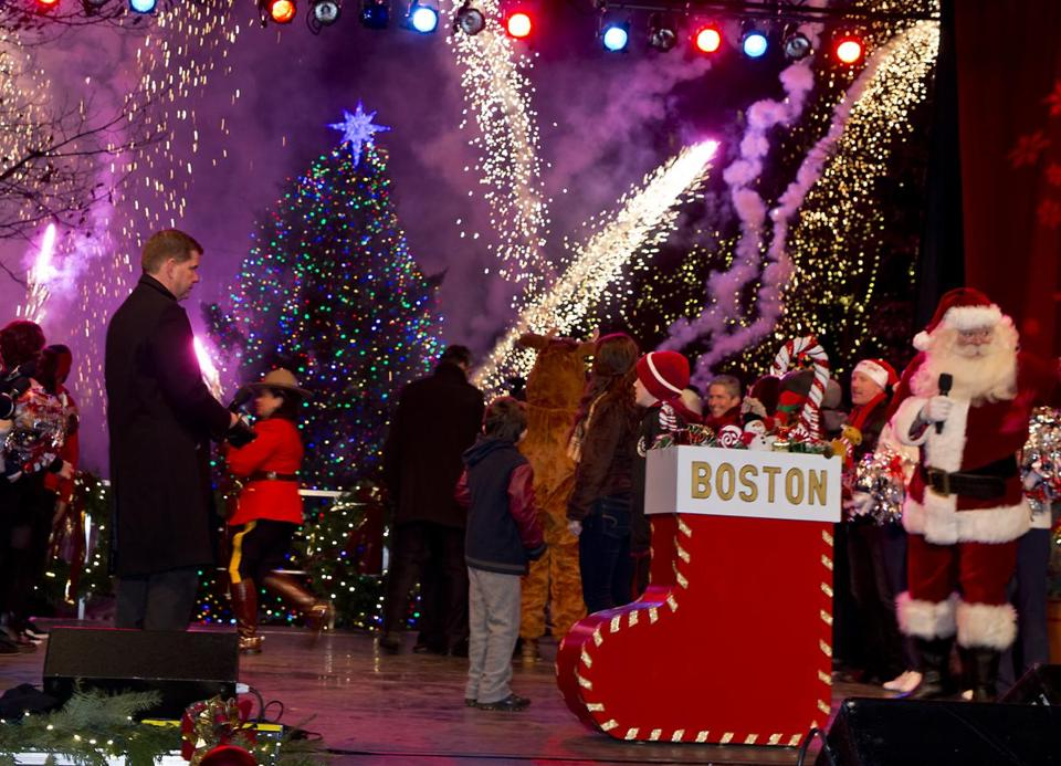 Boston's Christmas Tree Comes With A Hefty Price Tag — For Nova  - Boston Christmas Tree Lighting