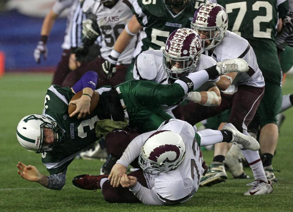 Abington blew out Northbridge in the Division 5 Super Bowl.