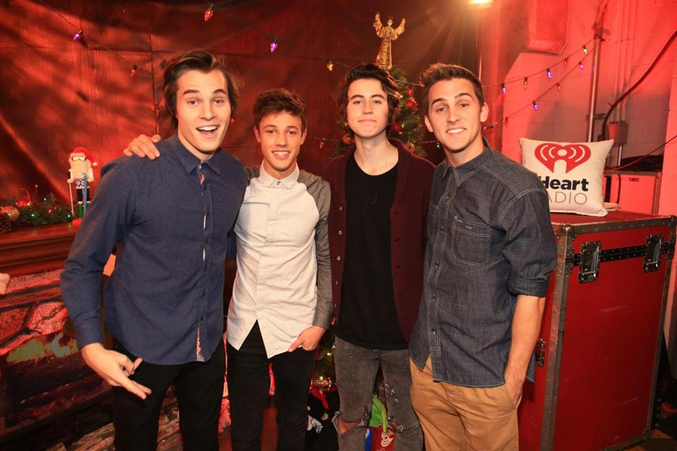 Marcus Johns, Cameron Dallas, Nash Grier, and Cody Johns have amassed their fame in six-second increments.