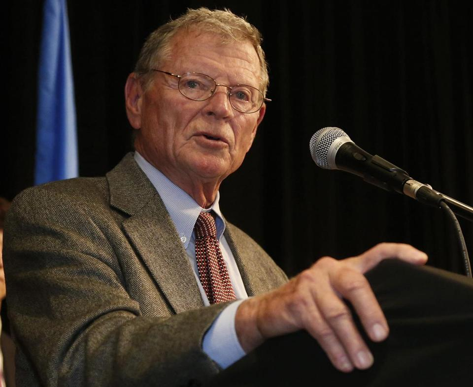 C. Denier Warren Senator James Inhofe sees a