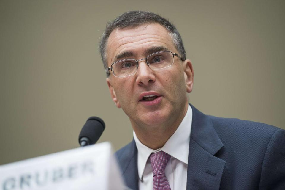 Jonathan Gruber testified during a US House Committee on Oversight and Government Reform hearing on Tuesday.