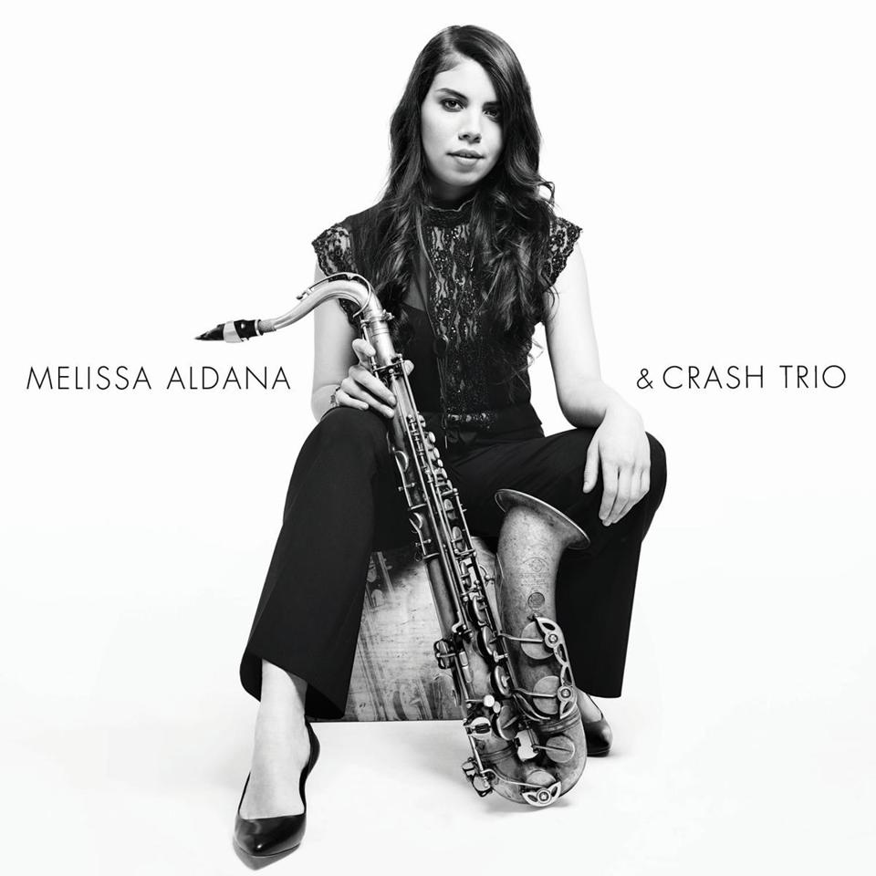 Melissa Aldana & Crash Trio (Concord, June 2014) Album cover 14bestalbumsgarelick