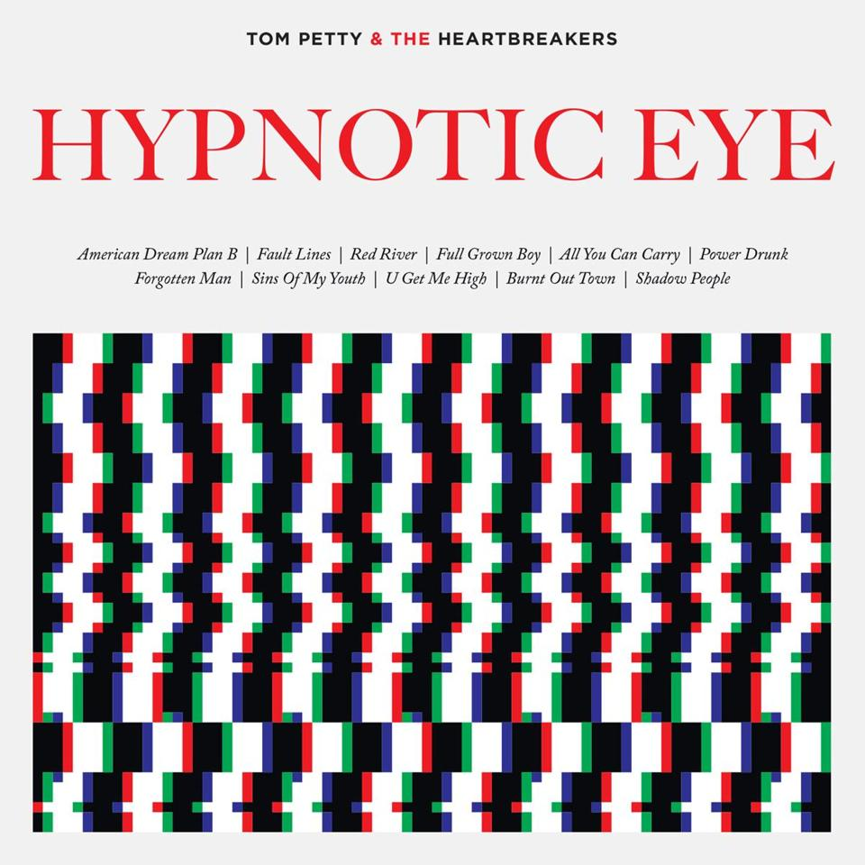 "TOM PETTY AND THE HEARTBREAKERS, ""HYPNOTIC EYE"" cd cover. -- 14bestalbumsrodman"