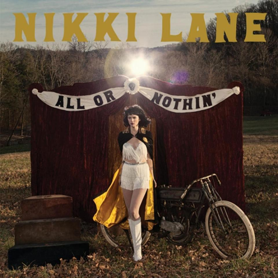 "Nikki Lane, CD album cover ""All or Nothin'"""