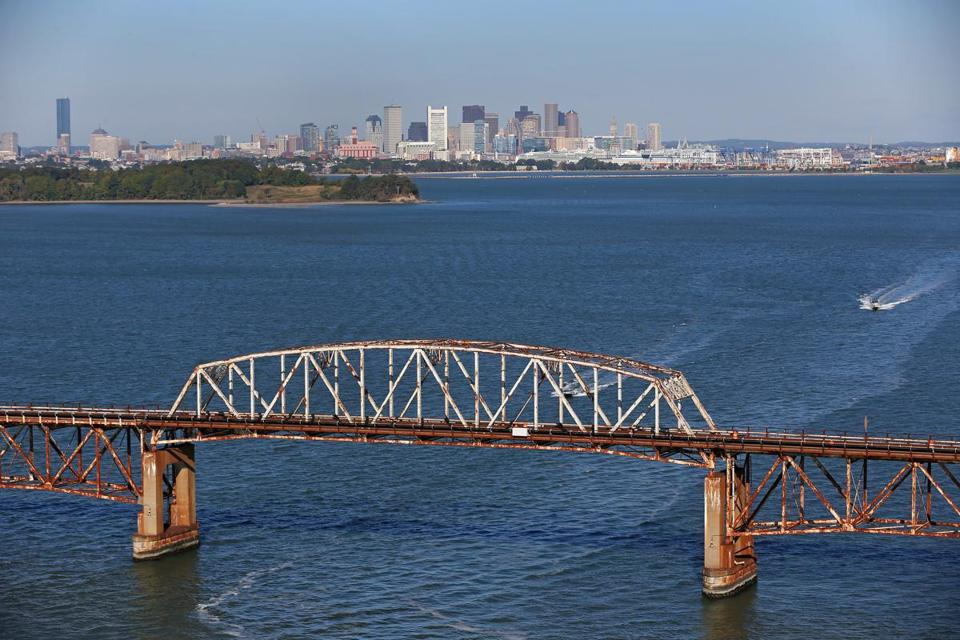 Mayor Walsh closed the Long Island Bridge in 2014 because it was unsafe for travel.