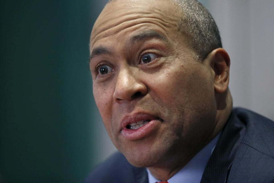 On the Massachusetts economy, Governor Patrick can leave Beacon Hill with his head held high.