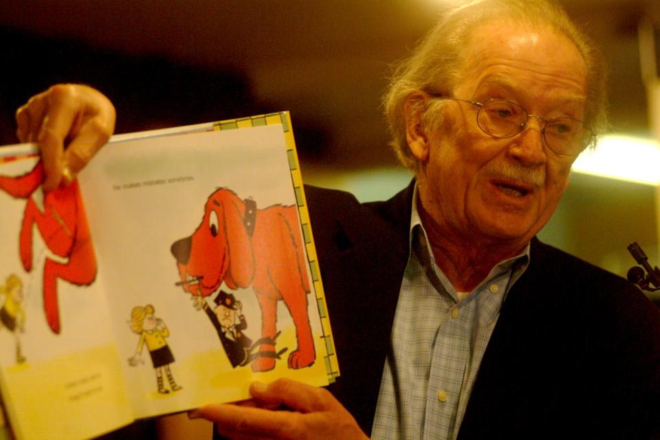 Norman Bridwell 86 Illustrator Who Created Clifford The Big Red