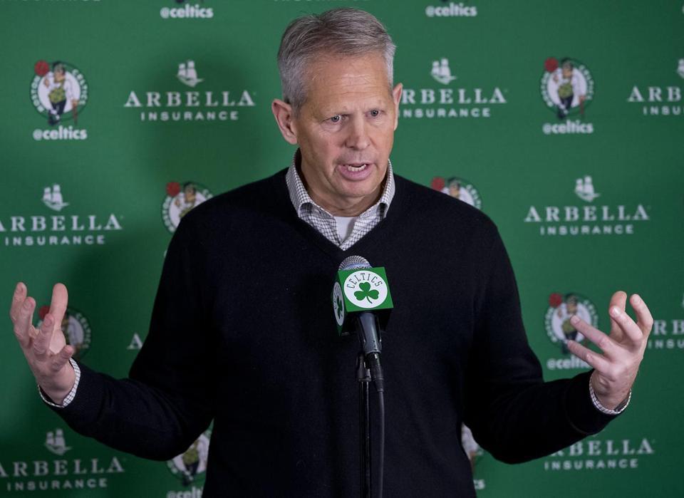 Danny Ainge 'couldn't be more excited' as Brad Stevens, Celtics ...