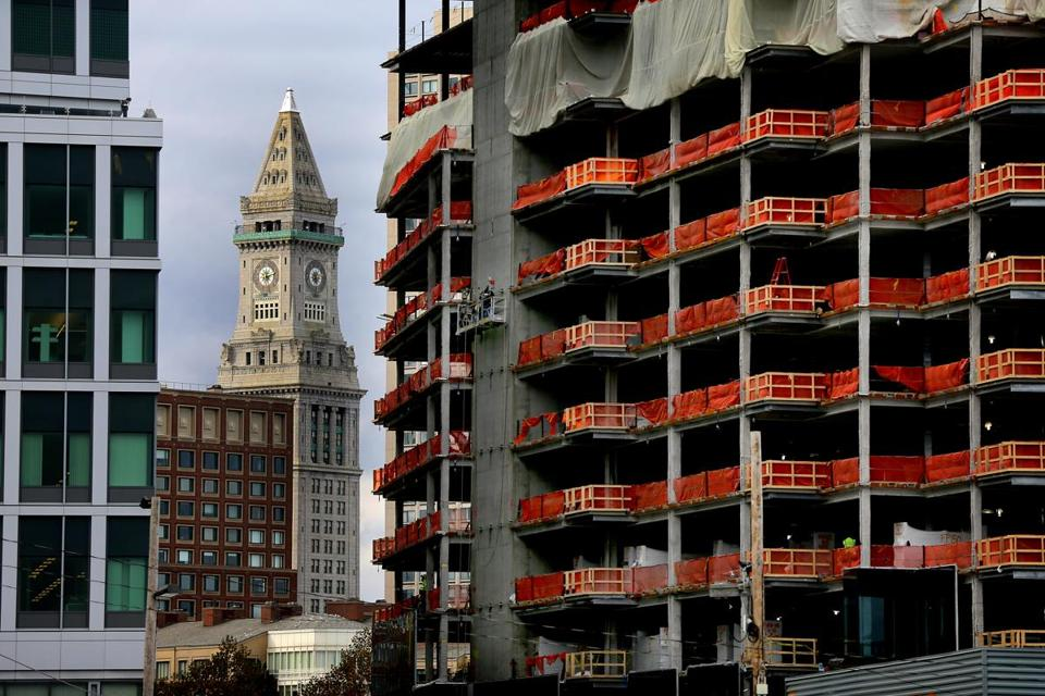 Development is in high gear in the Seaport District.