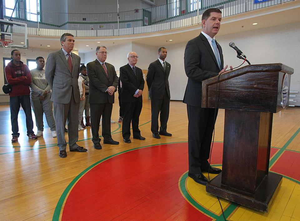 Mayor Walsh held a press conference on Friday to announce the new proposal.