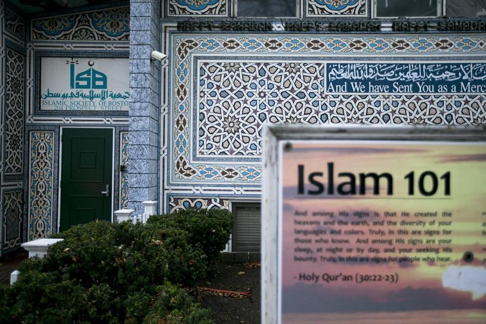 The Islamic Society of Boston's Prospect Street mosque.