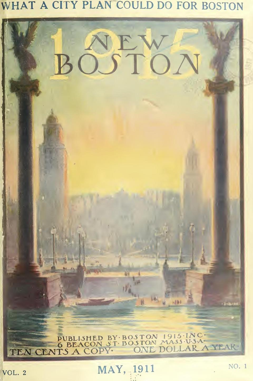 The campaign, called Boston-1915, is little-remembered today, but it was a movement with great sweep and ambition. They launched publicity campaigns and publications, including a reform-minded magazine called New Boston, and began an assault on urban problems from almost every possible angle.