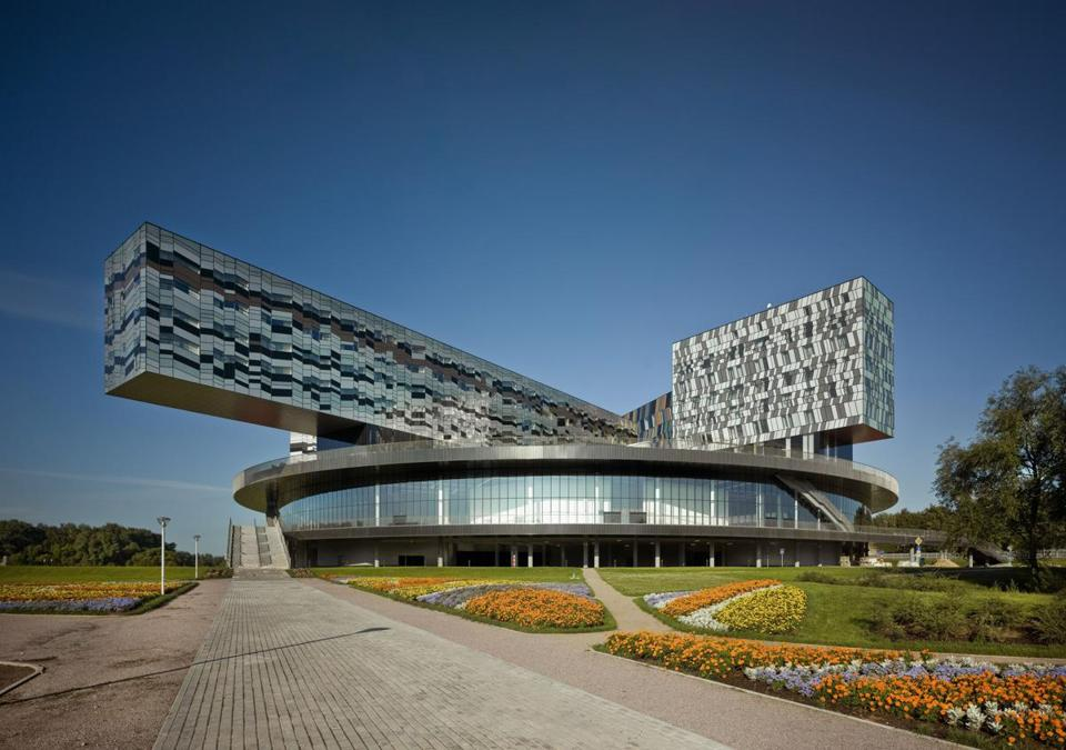 The Moscow School of Management in Skolkovo.