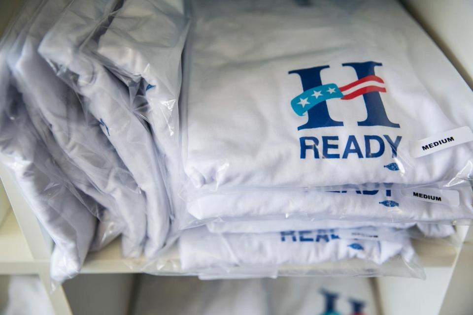 The Ready for Hillary super PAC has T-shirts. But will there be a candidate to go with them?