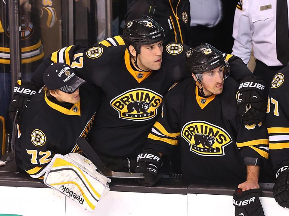 Boston 12 31 14 Bruins Vs Toronto Milan Lucic Has