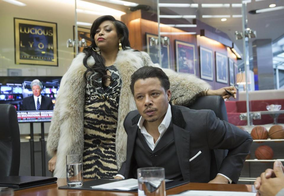 "Taraji P. Henson and Terrence Howard star in the Fox drama ""Empire."""