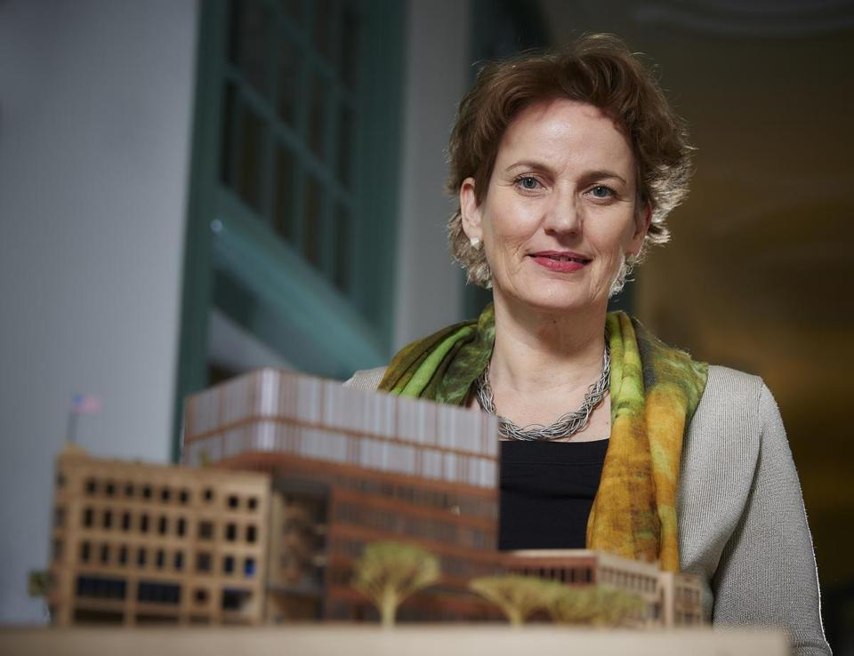 Francine Houben designed the city's new Bruce Bolling Building.