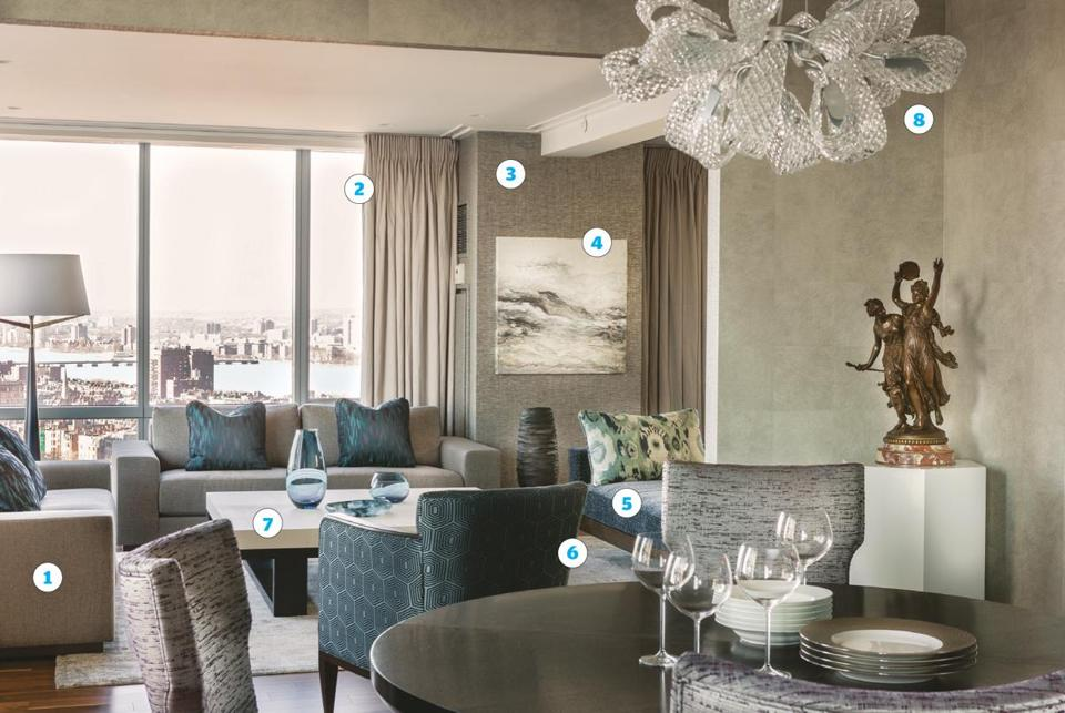 Bon Redesigning A Boston Condo In Sophisticated Gray And Blue   The Boston Globe