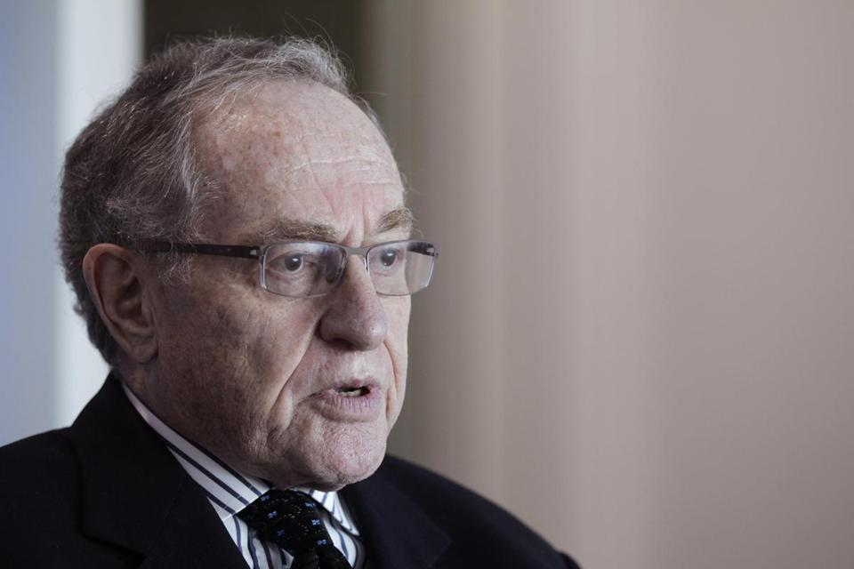 Attorney and law professor Alan Dershowitz.
